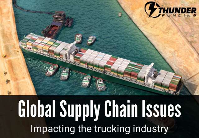 Global Supply Chain Issues in Trucking | Thunder Funding