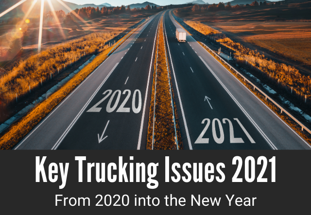 Key Trucking Issues for 2021 | Thunder Funding