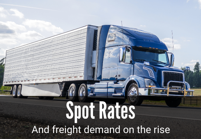 Spot Rates and Freight Demand on the Rise | Thunder Funding