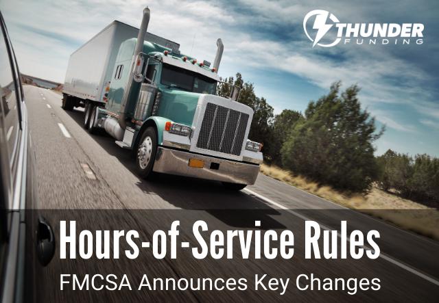 Trucking HOS Rules | Thunder Funding-1